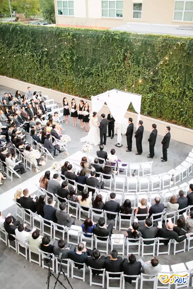 دکوراسیون سالن عروسی