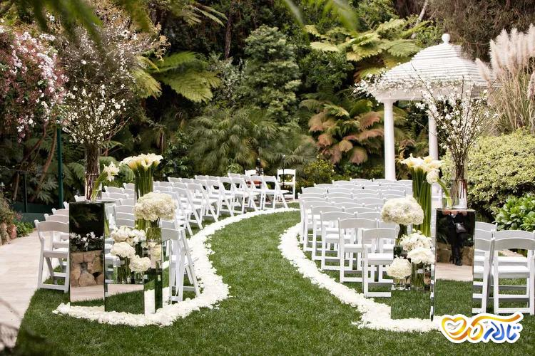 چیدمان صندلی جشن عروسی