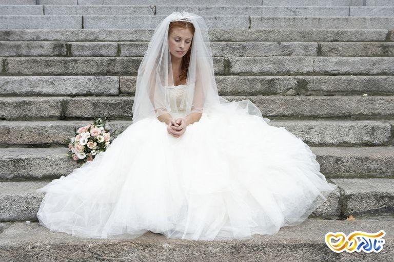 استرس قبل از عروسی