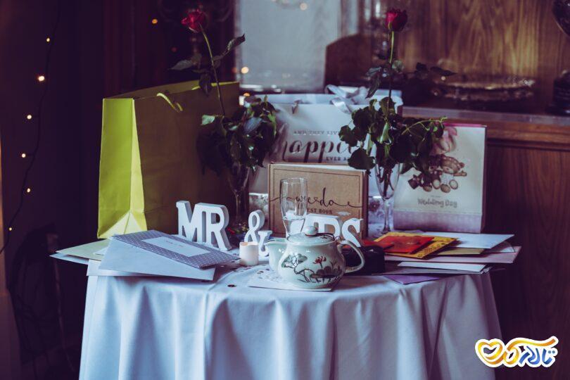 انتخاب کادو برای عروس